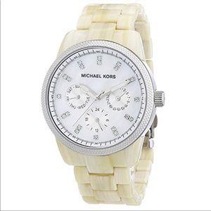 Michael Kors Women's Oversized Horn Watch